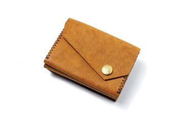 レザーのミニ財布