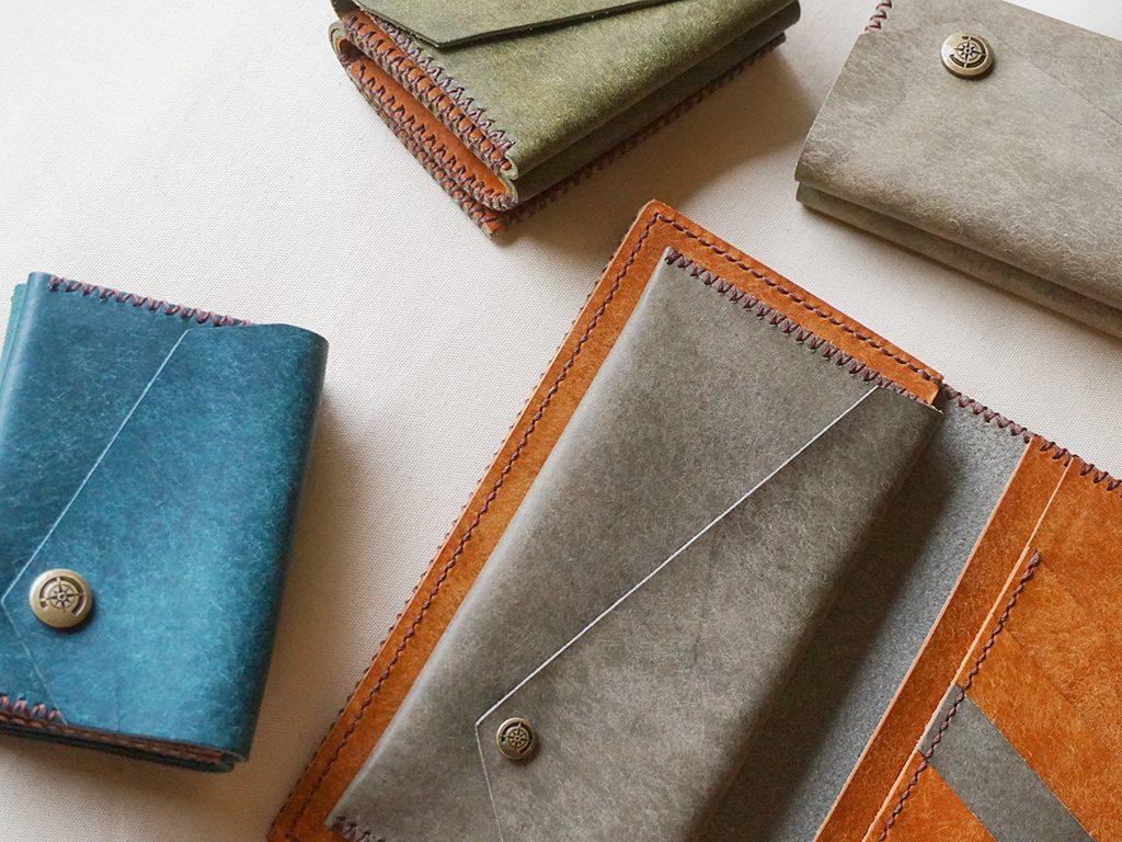 限定カラーのレザー財布