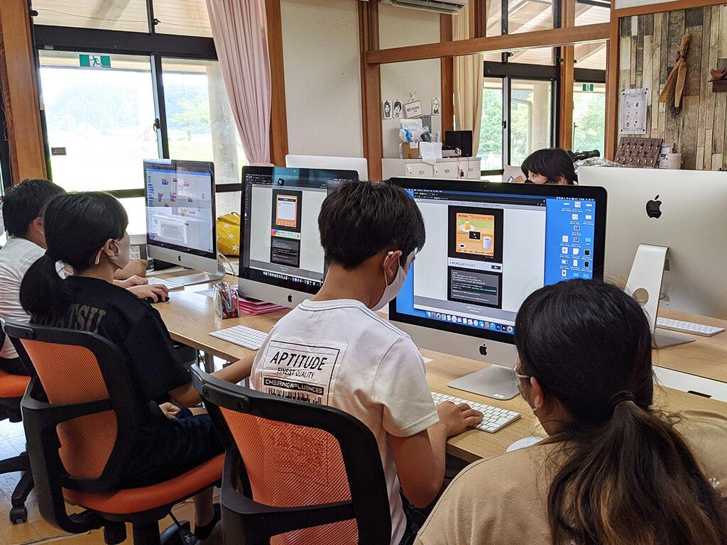 パソコン教室の風景